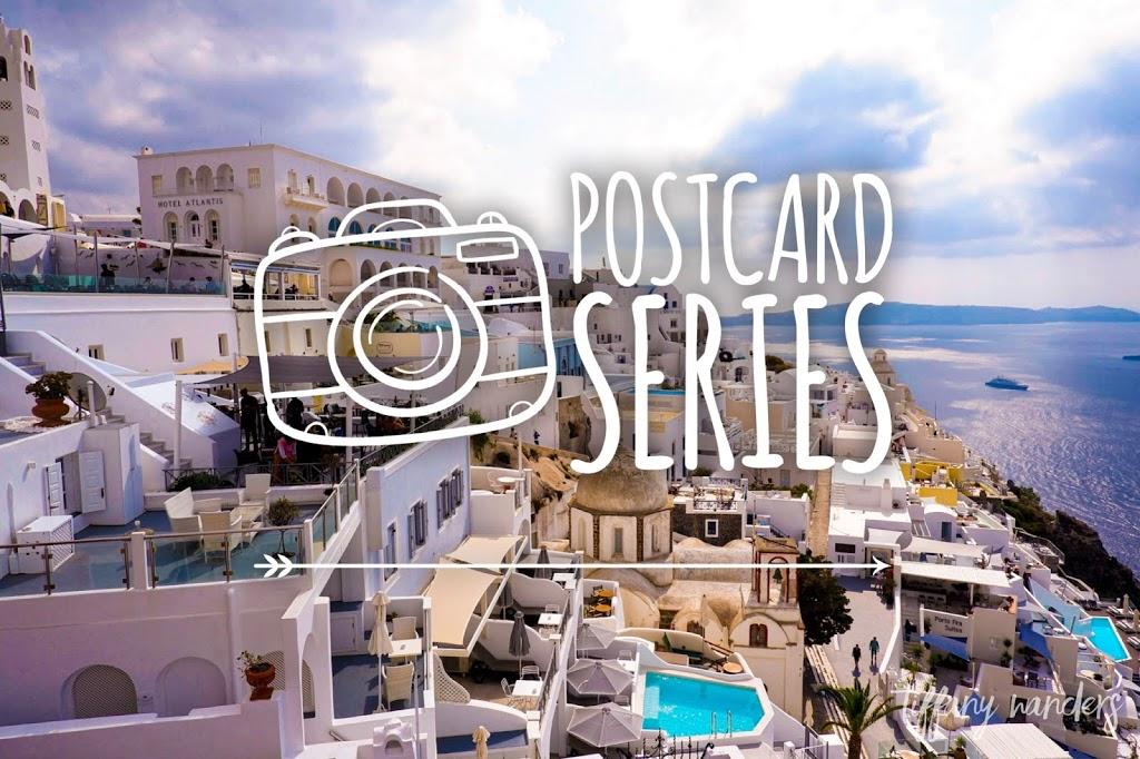 Postcard Series: Crete and Santorini in Greece