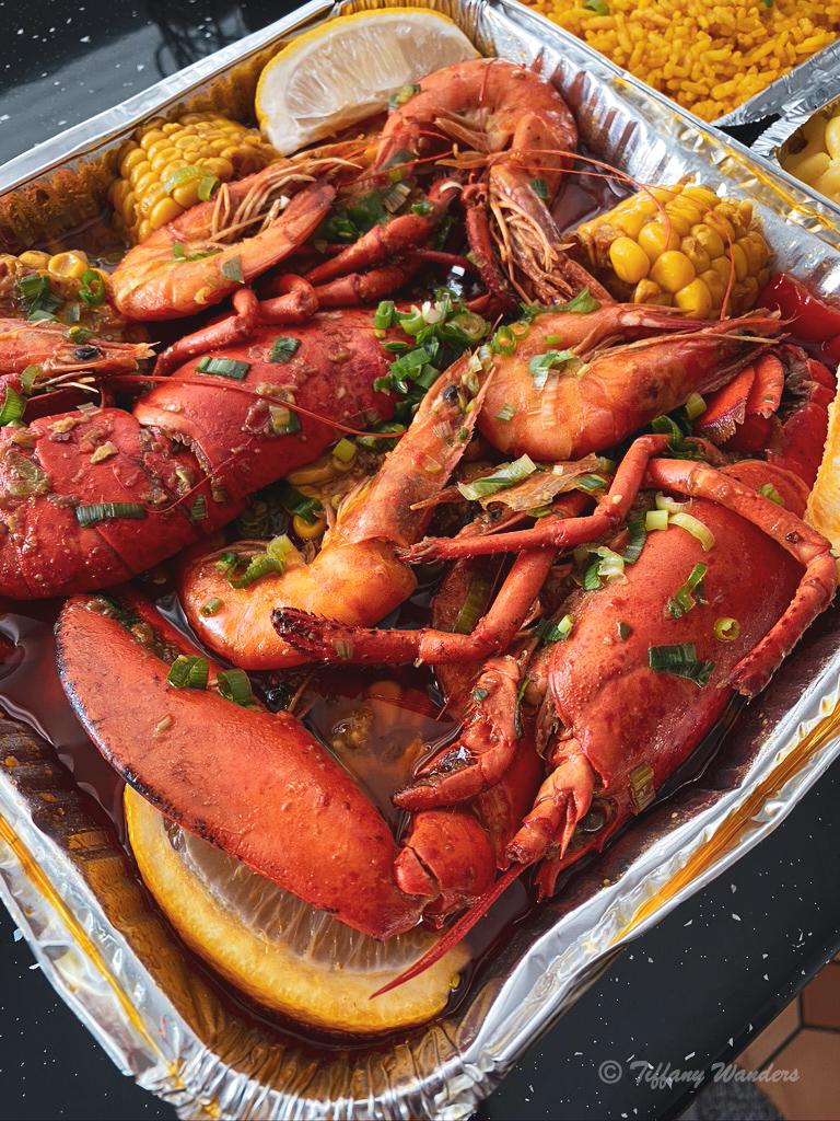 Dampa UK's Seafood: Manila Platter